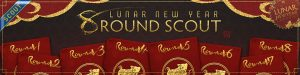 8 ROUND SCOUT LUNAR NEW YEAR SCOUT 2019