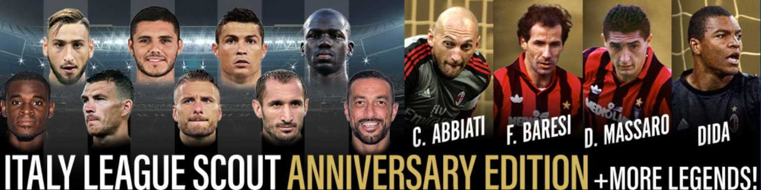 ITALY LEAGUE SCOUT ANNIVERSARY EDITION